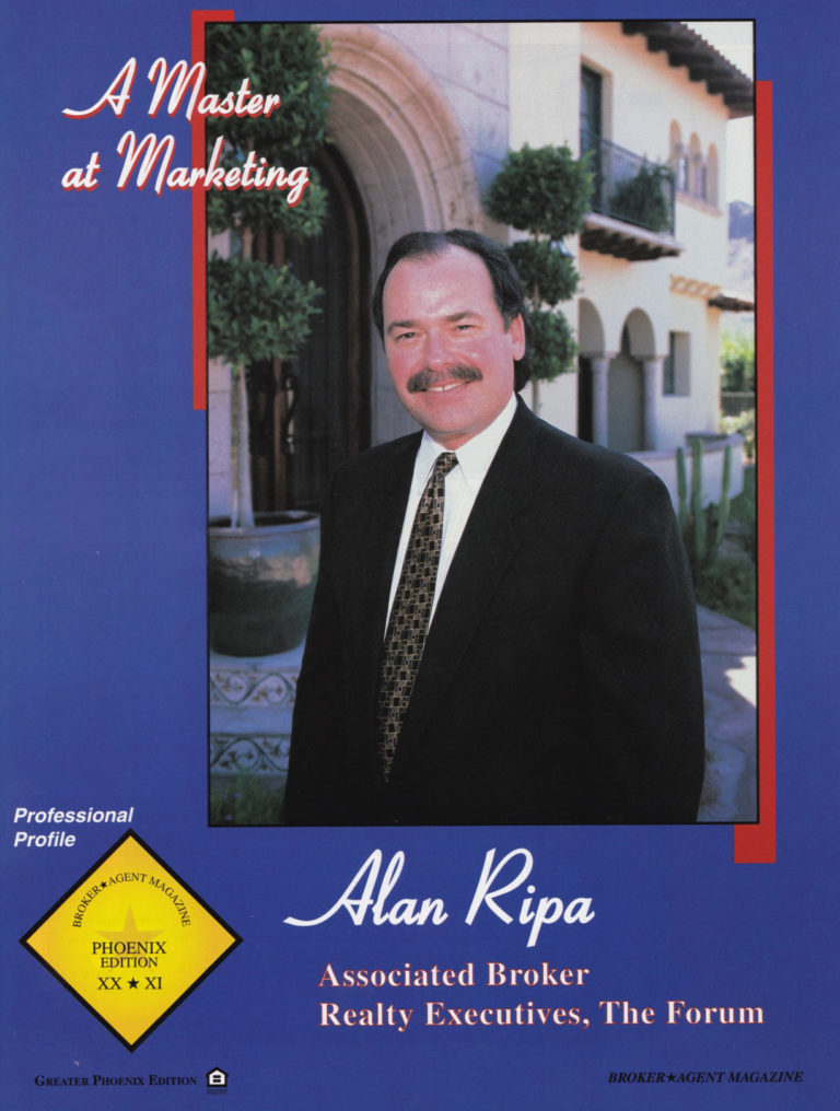 Alan Featured In Real Estate magazine